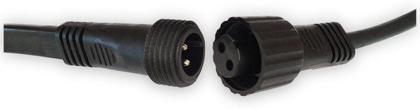 Illu-Lichterkette LEDmaxx 20 Fassungen, E27, 230V~, IP44, 10m, verlängerbar - Produktbild 2