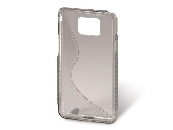 Handy-Cover für SAMSUNG GALAXY S II, HAMA TPU Combi Case