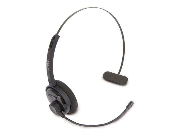 Bluetooth Headset LOGILINK BT0027, schwarz