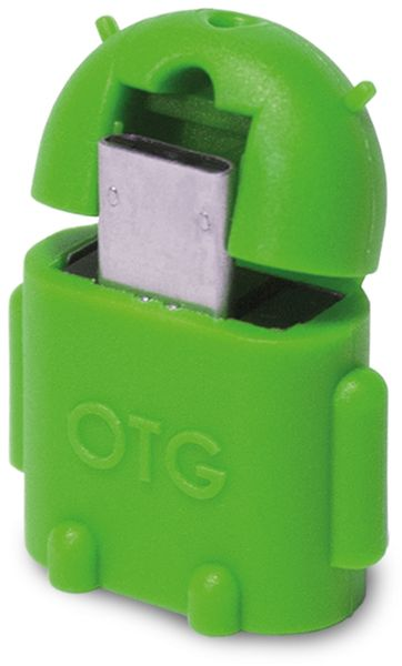 OTG-Adapter mit Micro-B Stecker, Android