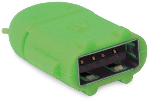 OTG-Adapter mit Micro-B Stecker, Android - Produktbild 2