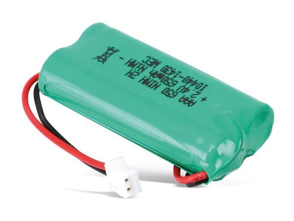 Telefon-Akku, 2,4 V, 650 mAh, passend für Gigaset