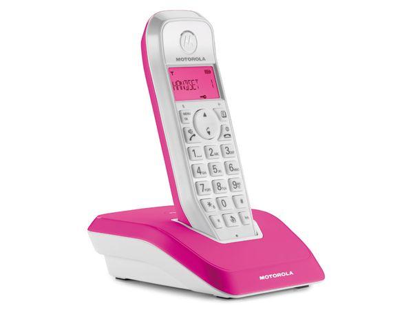 DECT-Telefon MOTOROLA STARTAC S1201, pink