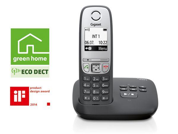 Schnurloses DECT-Telefon GIGASET A415 A, mit AB