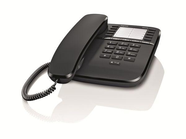 Telefon GIGASET DA510, schwarz
