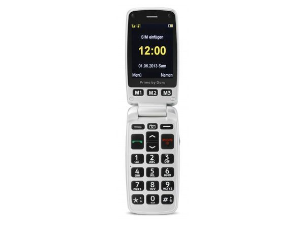 Mobiltelefon DORO Primo 413, schwarz - Produktbild 3