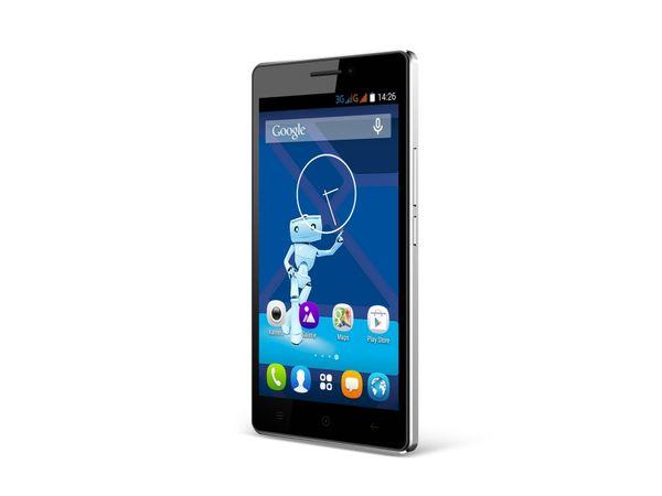 Dual-SIM Smartphone HAIER HaierPhone Voyage V3, schwarz - Produktbild 2