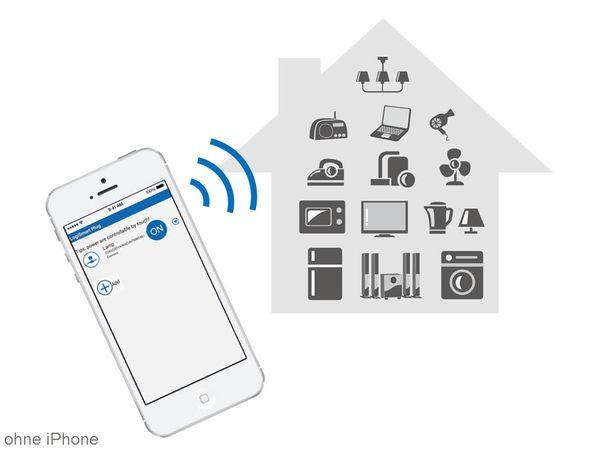 WiFi-Steckdose LOGILINK LogiSmart Plug Switch PA0066, mit Messfunktion - Produktbild 4