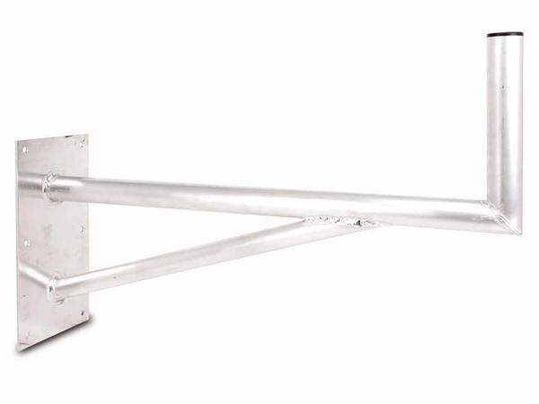 Aluminium Doppelrohr-Wandhalter, 850 mm