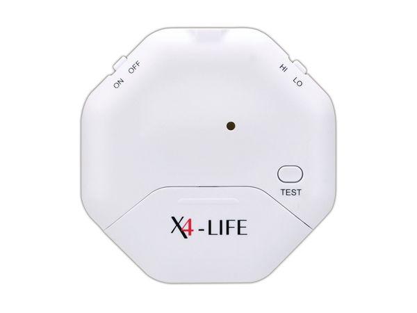 Glasbruch-Alarm X4-LIFE, weiß