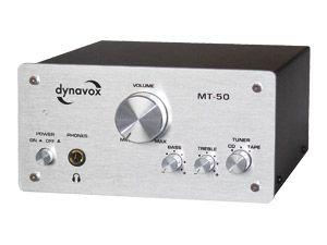 Mini-HiFi-Verstärker DYNAVOX MT-50, silber - Produktbild 2