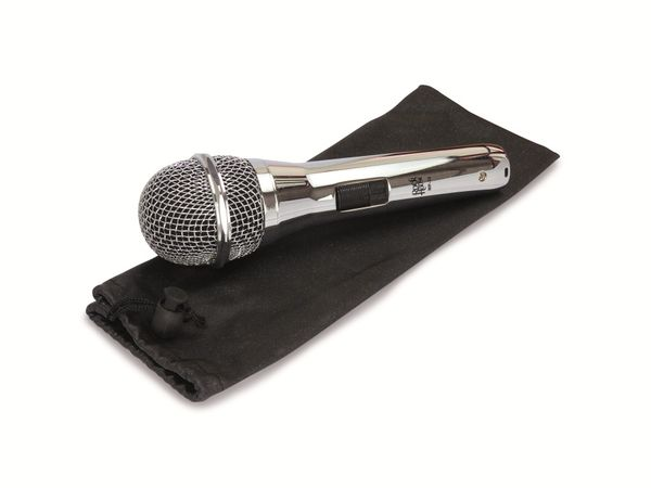 "Mikrofon ROCKHOUSE ""Semi-Professional"", chrom - Produktbild 2"