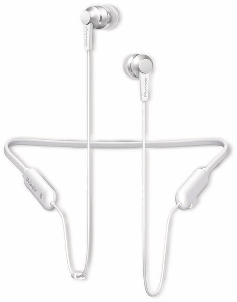 In-Ear Ohrhörer Pioneer SE-C7BT, weiß, Mikrofon, Bluetooth