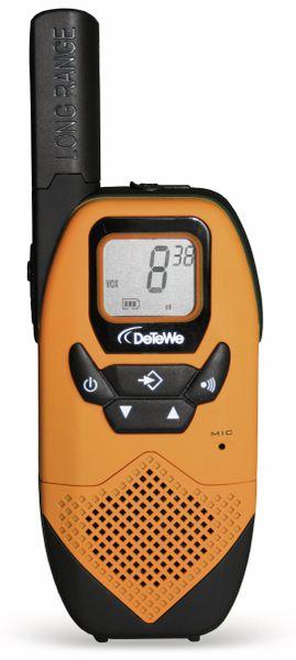 PMR-Funkgeräte-Set DETEWE Outdoor 8000 Quad Case - Produktbild 3