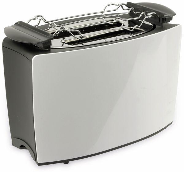 Doppelschlitz, Toaster, TR-Tds-03, weiß, 800 W - Produktbild 2