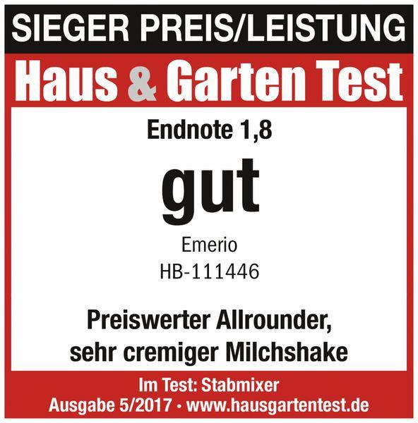 Stabmixer EMERIO HB-111446, schwarz, 250 Watt - Produktbild 4