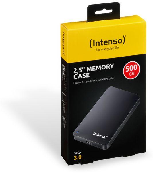 USB 3.0-HDD INTENSO Memory Case, 500 GB, schwarz - Produktbild 2