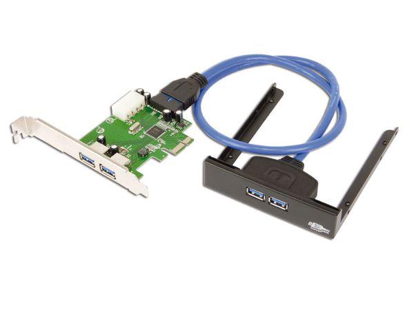 USB 3.0 PCIe-Karte mit Frontpanel
