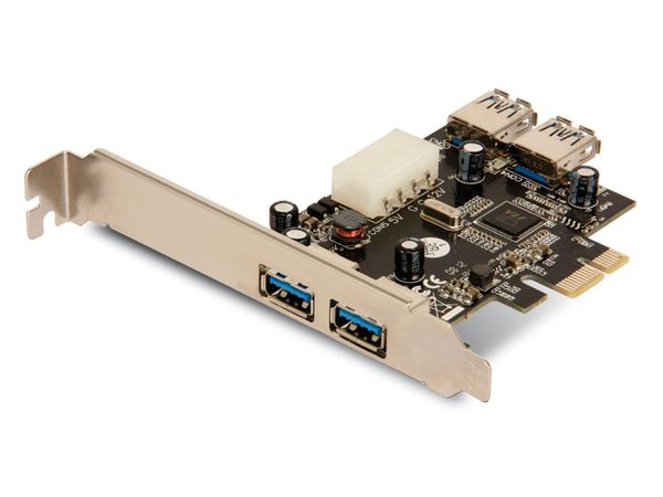 USB 3.0 PCIe-Karte, 4-Port - Produktbild 2