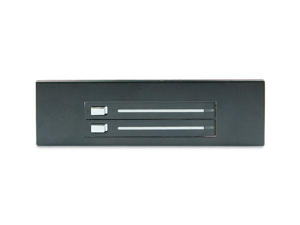 """SATA-Wechselrahmen, 2x 6,35 cm (2,5"""") für 5,25""""-Schacht - Produktbild 3"""