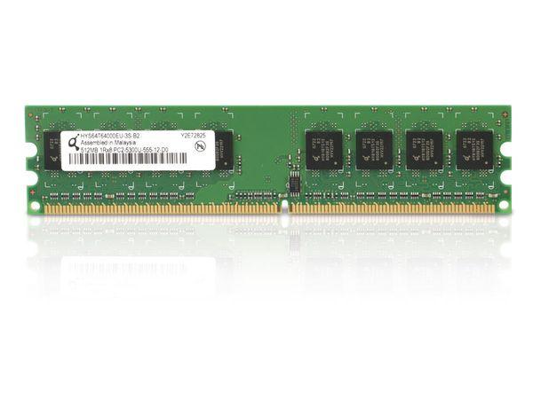 Speichermodul QIMONDA HYS64T64000EU-3S-B2, DDR2-RAM, 512 MB