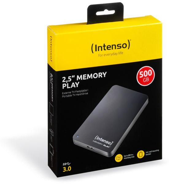 USB 3.0-HDD INTENSO Memory Play, 500 GB - Produktbild 2