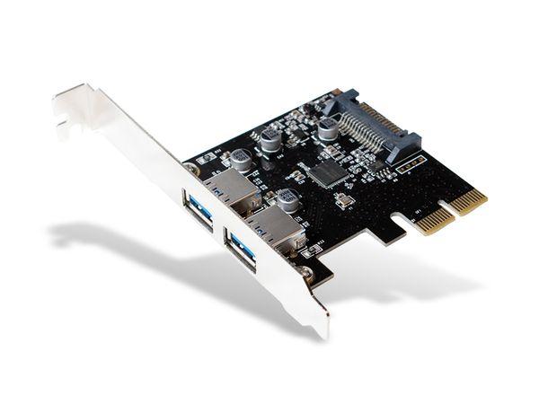 USB 3.1 PCIe-Karte LOGILINK PC0080, 2-Port