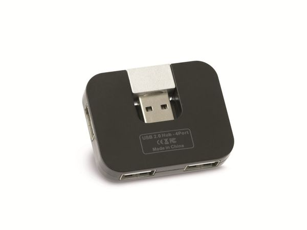 USB 2.0 Hub RED4POWER R4-U007B - Produktbild 2