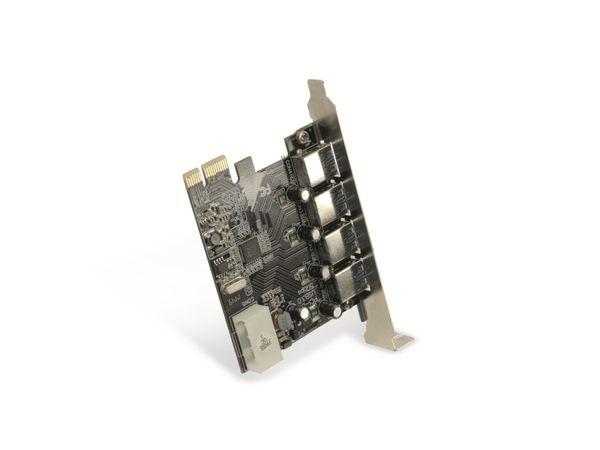 USB 3.0 PCIe-Karte RED4POWER R4-E002, 4-port - Produktbild 3