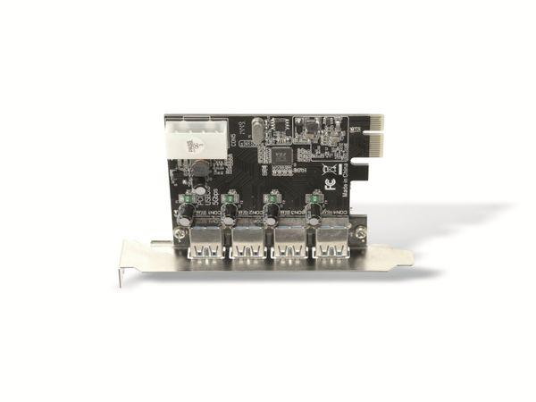 USB 3.0 PCIe-Karte RED4POWER R4-E002, 4-port - Produktbild 5