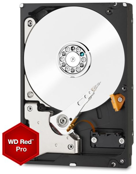 "HDD WESTERN DIGITAL WD2002FFSX Red Pro, 3,5"", 7200 RPM, SATA III, 2 TB"