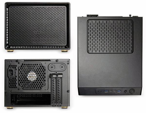 PC-Gehäuse KOLINK Satellite, Mini-ITX, schwarz - Produktbild 3