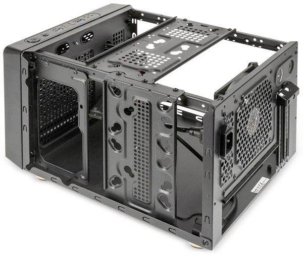 PC-Gehäuse KOLINK Satellite, Mini-ITX, schwarz - Produktbild 5