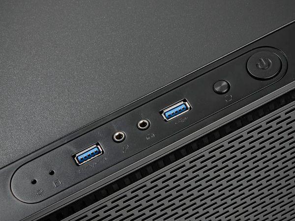 PC-Gehäuse KOLINK Satellite, Mini-ITX, schwarz - Produktbild 6