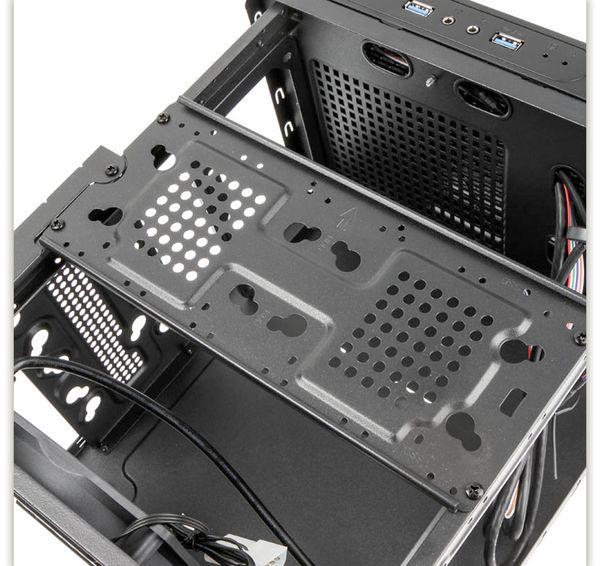 PC-Gehäuse KOLINK Satellite, Mini-ITX, schwarz - Produktbild 7