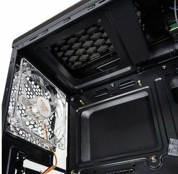 PC-Gehäuse KOLINK Aviator M, Micro-Tower, schwarz - Produktbild 2