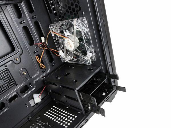 PC-Gehäuse KOLINK Aviator M, Micro-Tower, schwarz - Produktbild 10