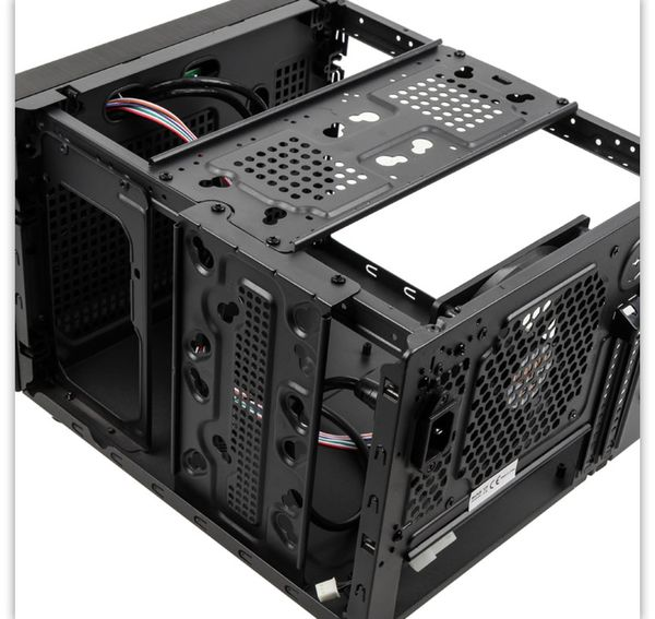 PC-Gehäuse KOLINK Satellite Plus, Mini-ITX/Micro-ATX, schwarz - Produktbild 9