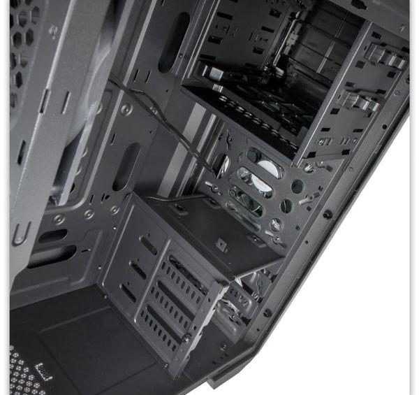 PC-Gehäuse KOLINK Aviator, Midi-Tower, schwarz/grün - Produktbild 2