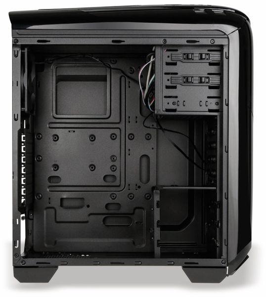 PC-Gehäuse KOLINK Aviator, Midi-Tower, schwarz/grün - Produktbild 10