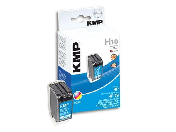Tintenpatrone KMP, kompatibel für HP 78XL (C6578A), 3-Color