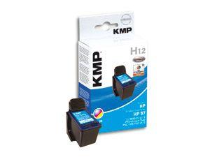 Tintenpatrone KMP, kompatibel für HP 57 (C6657AE), 3-Color