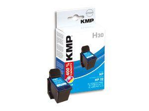 Tintenpatrone KMP, kompatibel für HP 22XL (C9352CE), 3-Color