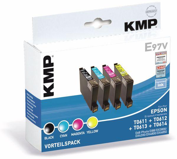 Tintenpatronen-Set KMP, kompatibel für Epson T0615