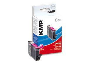Tintenpatrone KMP, kompatibel für Canon CLI-8M, magenta