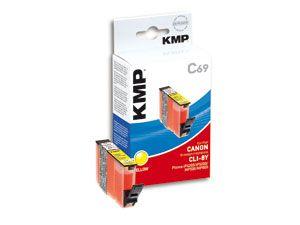 Tintenpatrone KMP, kompatibel für Canon CLI-8Y, gelb