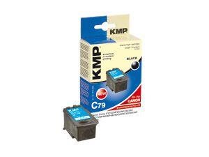 Tintenpatrone KMP, kompatibel für Canon PG-512, schwarz