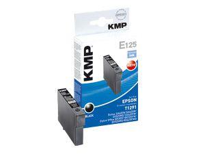 Tintenpatrone KMP, kompatibel für Epson T1291, schwarz