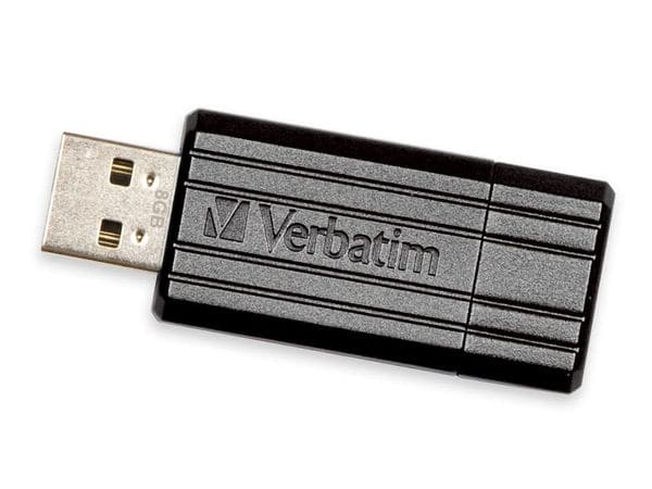 USB-Speicherstick VERBATIM PinStripe, 8GB