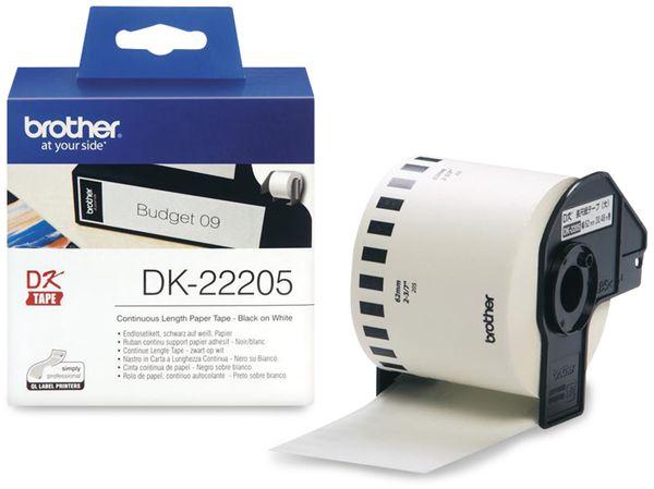 Endlos-Etikett BROTHER DK-22205